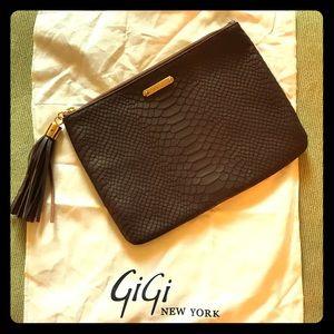 Gigi New York Clutch | Choc Brown | All in one bag